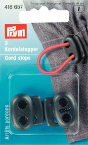 2 Prym Cord Stops With 2 Holes