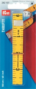 Prym 150cm/60inch Thrifty Measuring Tape