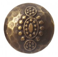 Oxy Brass Dome Buttons