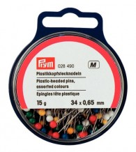 Prym Plastic-Headed Pins