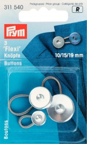 Prym Flexi Buttons With Loop