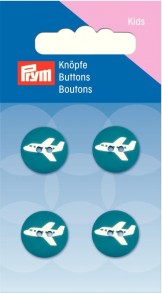 Prym 2-Hole Kids Aircraft Buttons