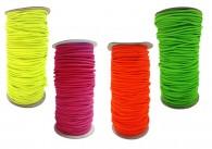 Coloured Shot Cord Elastic