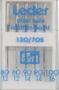 Prym Leather-Point Machine Needles