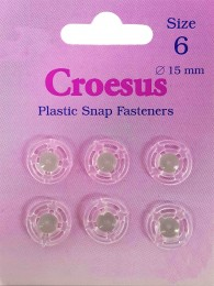 Plastic Snap Size 6