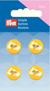 Prym 2-Hole Kids Excavator Buttons
