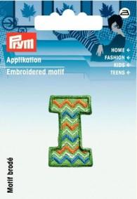 Prym Embroidered Letter 'I' Motif