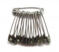 34mm Nickel Crofter Safety Pins
