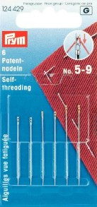 6 Prym Self Threading Needles