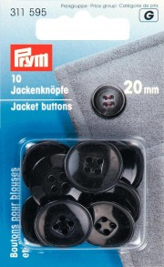 Prym 4-Hole Jacket Buttons