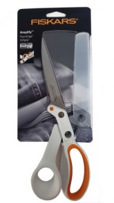Fiskars 21cm Amplify RazorEdge Softgrip Scissors.