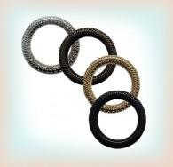 25mm Patterned Metal O-Ring
