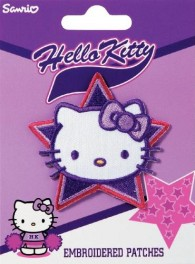 Prym Hello Kitty Face Embroidered Patch