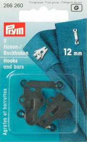 Prym 12mm Hooks and Bars