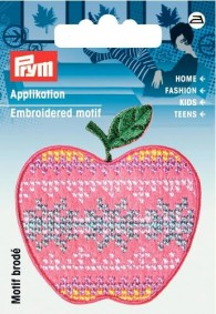 Prym Embroidered Apple Motif