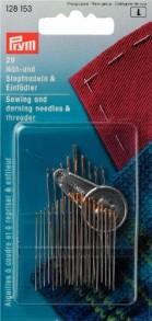 Prym Hand Assorted Needles & Threader