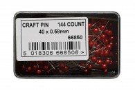 144 Red Craft Pin