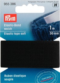 Prym Elastic Tape Soft 1m of 30mm