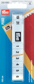 Prym 150cm Fixo Self-Adhesive Measuring Tape