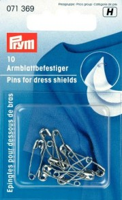Prym Saftey Pins For Dress Shields