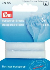 Prym Transparent Elastic 3m of 10mm