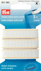 Prym Loom Elastic Extra Soft 2m of 15mm