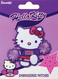 Prym Hello Kitty with Hair-Band Embroidered Patch