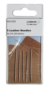 5 Leather Needles