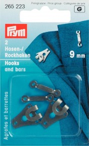 Prym 9mm Hooks and Bars