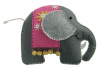 Felt DIY elephant loose