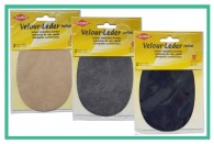 Velor Imitation Leather Elbow Patches
