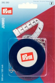 Prym Retractable 300cm/120inch Jumbo Measuring Tape