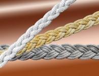 Metallic Plait Braid Trim