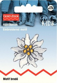 Prym Embroidered Edelweiss Motif