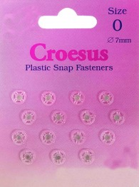 Plastic Snap Size 0