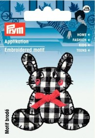 Prym Embroidered Bunny Motif