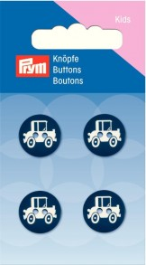 Prym 2-Hole Kids Car Buttons