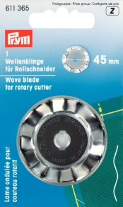 1 Wave Blade for Rotary Cutter 45mm