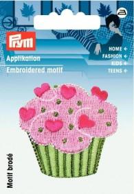 Prym Embroidered Cupcake Motif
