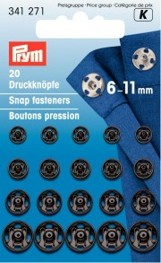 20 Sew-On Snap fasteners