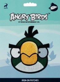 Prym Iron-On Angry Birds Patch - Green