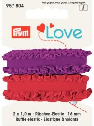Prym Ruffle Elastic 2x1m of 16mm