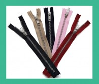 YKK NO.5 Aluminum Closed End Zips