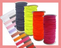 Rounded shot cord elastic (3mm)