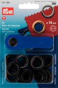 10 Eyelets with Washers with tool