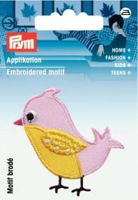 Prym Embroidered Bird Motif