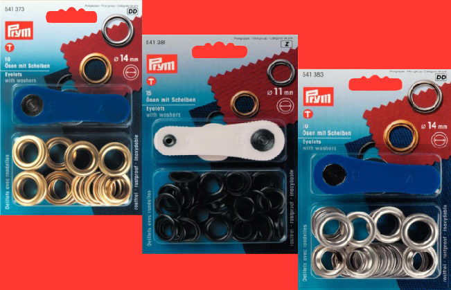 PRYM Eyelets and Washers