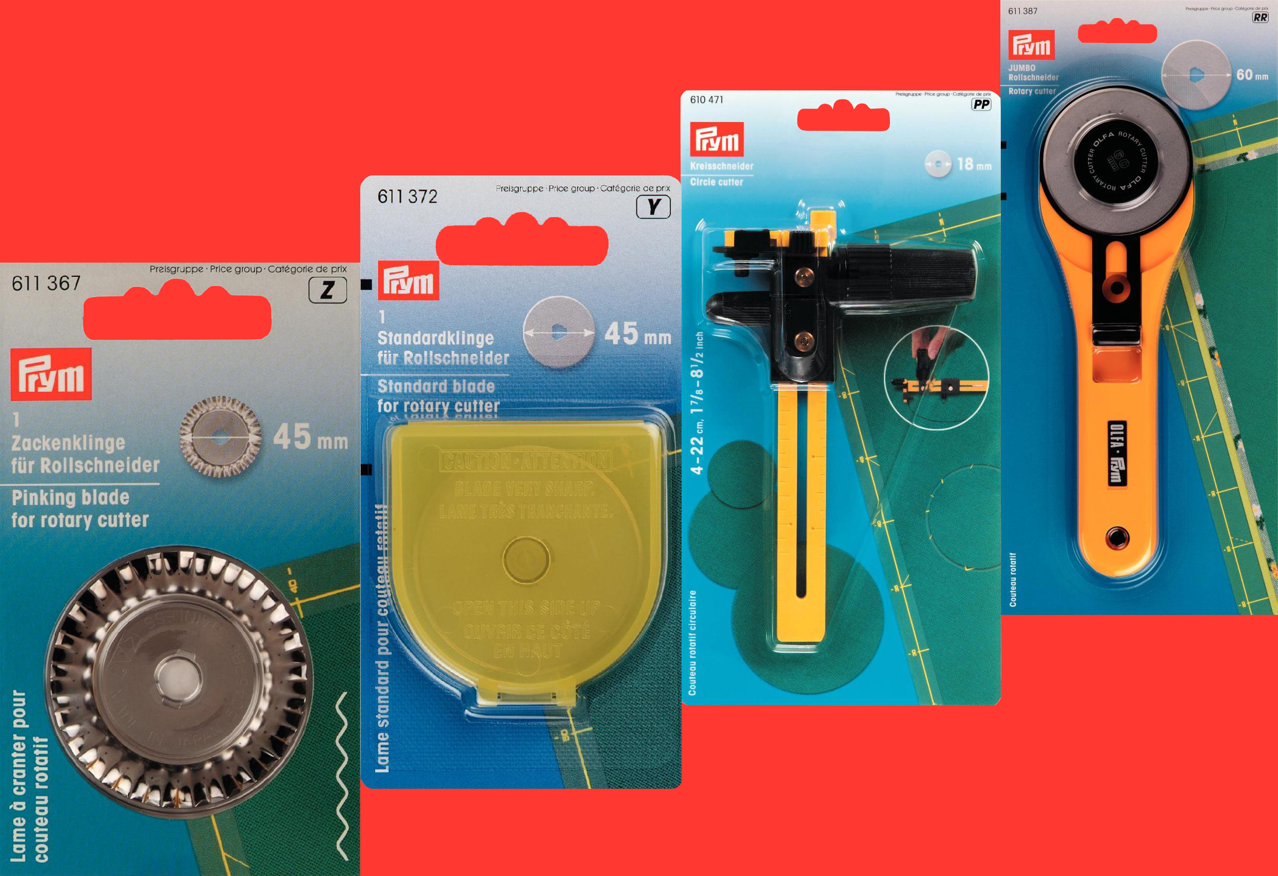 Rotary Cutters and Blades