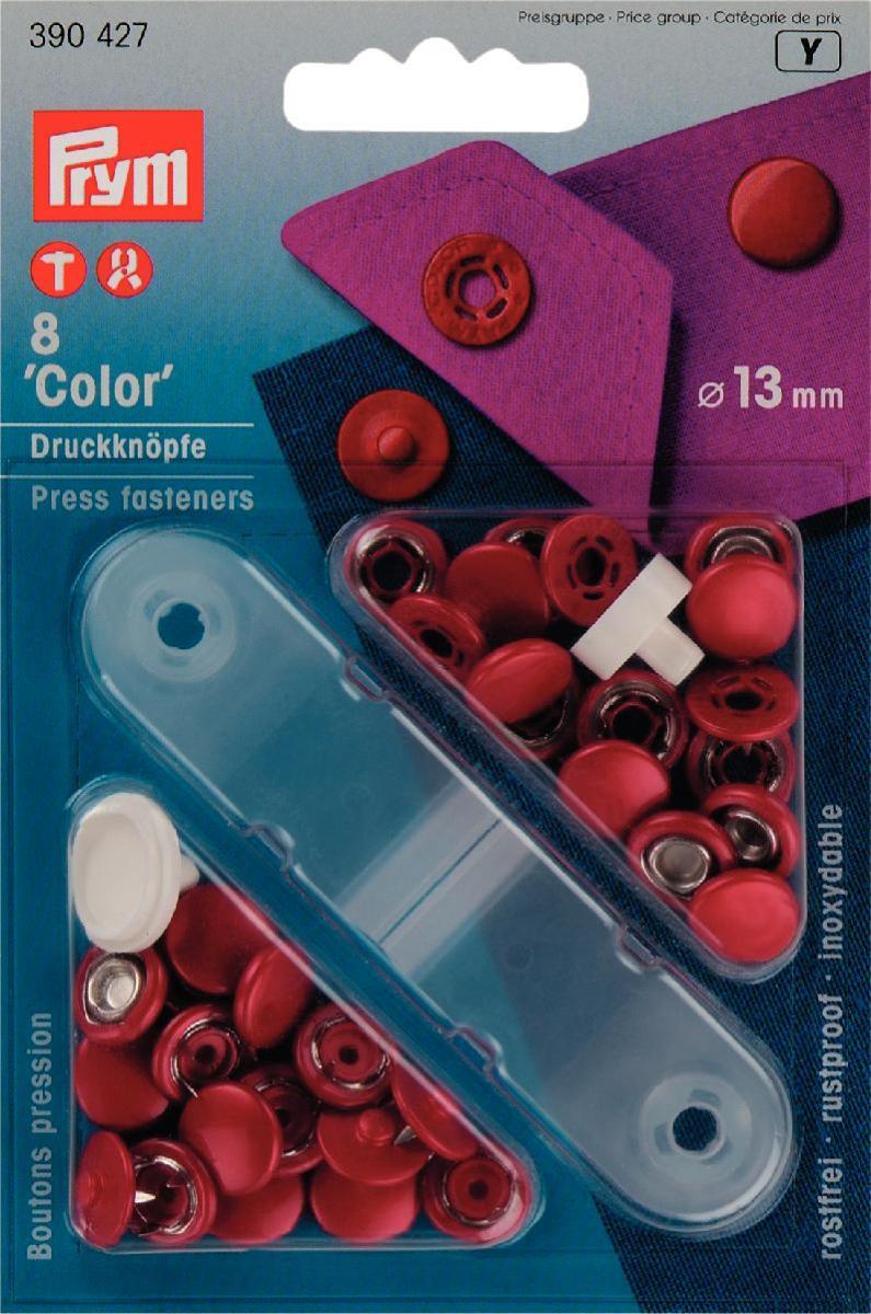 Prym \'Color\' Press fasteners - London Trimmings
