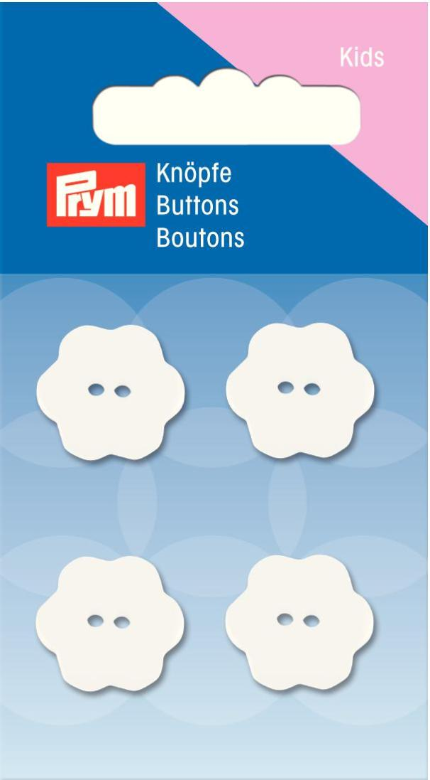 Prym 2-Hole Kids Flower Buttons